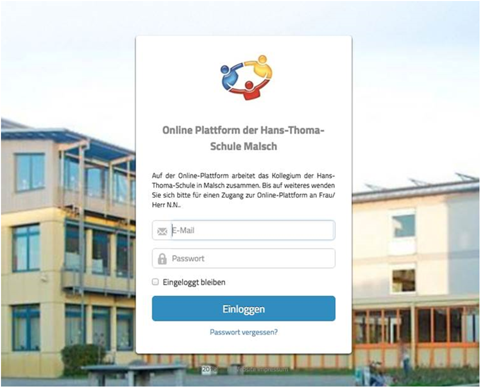 Startseite der Hans-Thoma Plattform